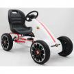 Картинг Abarth Pedal Go Kart с меки гуми, лицензиран модел  3