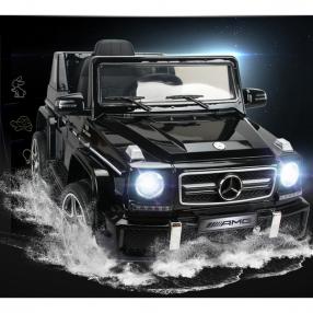 Акумулаторен джип Mercedes Benz G63 12V с меки гуми