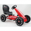 Картинг Abarth Pedal Go Kart с меки гуми, лицензиран модел  2