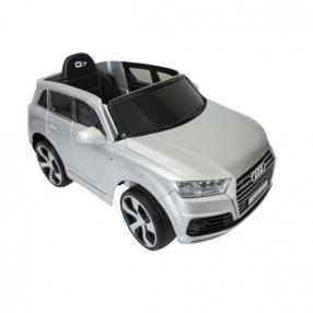 Kikkaboo Audi Q7 - Акумулаторен джип, 12V с меки гуми и кожена седалка