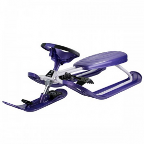 Stiga Snowracer COLOR PRO PURPLE - Шейна с кормило