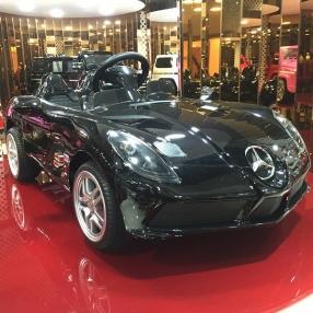 Акумулаторна кола Mercedes 12V металик с меки гуми