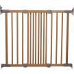 BabyDan Flexi fit Wood - Предпазна преграда 1