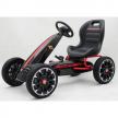 Картинг Abarth Pedal Go Kart с меки гуми, лицензиран модел  1
