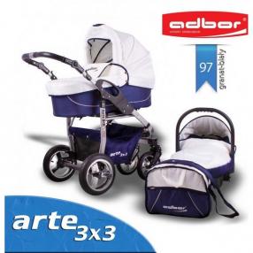 Adbor Arte 3x3 - Комбинирана количка