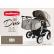 Adbor Duo Stars - Бебешка количка за близнаци 2