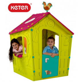 Keter Magic Playhouse пластмасова къща за игра