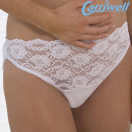 Carriwell - Дантелени еластични бикини