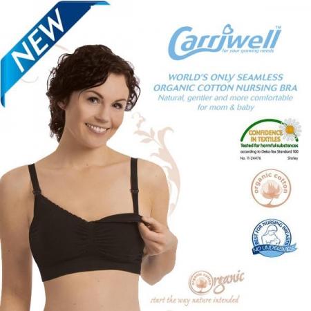 Carriwell - Безшевен сутиен от органичен памук