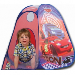 John Pop Up Play Cars - Палатка неон