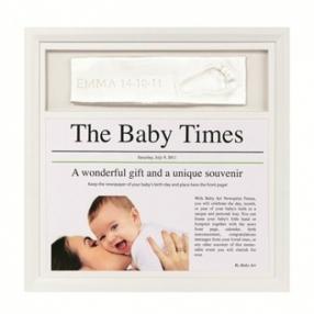 Baby Art Рамка за отпечатък и новини от деня на раждането
