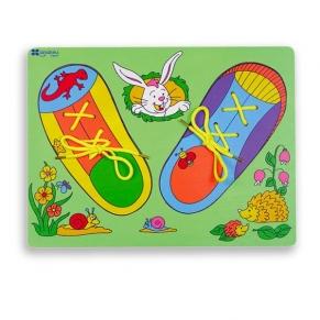 """Andreu toys  Пъзел """"Обувка за връзване"""""""