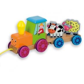 """Andreu toys  Трактор """"Ферма"""" с магнити"""