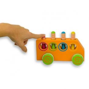 Andreu toys Игра нагоре, надолу - автобус