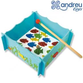 Andreu toys  Риболов дървен