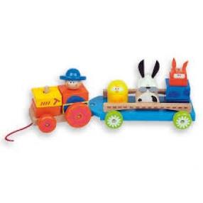 Andreu toys  Трактор с животни