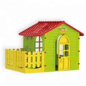 Mochtoys малка къща с ограда 10839