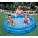 Intex Crystal Blue - Детски надуваем басейн, 147х33см. 2