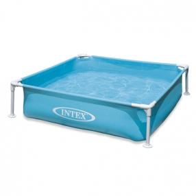 Intex Mini Frame - Детски сглобяем басейн, 122х122х30см.