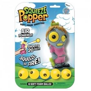 Squeeze Poppers Зомби Момиче - Изстрелвачка с топчета