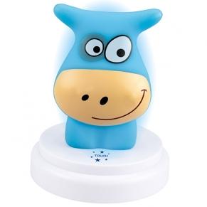 Alecto LED Нощна лампа Синята крава