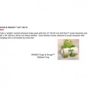 Chipo Toys Одеалце с плюшена жаба