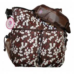 Barbabebe Чанта за пелени пролетен цвят