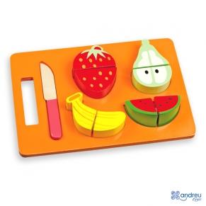 Andreu Toy Комплект плодове за рязане