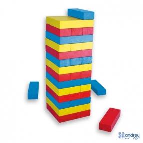 Andreu Toys Цветна балансна кула