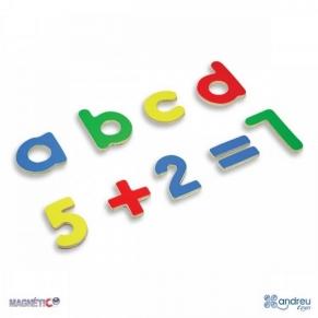 Andreu Toys магнитни букви и цифри