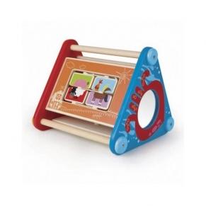 Hape - Дървена игра Образователна колибка