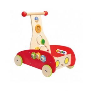Hape - Дървенa количка проходилка
