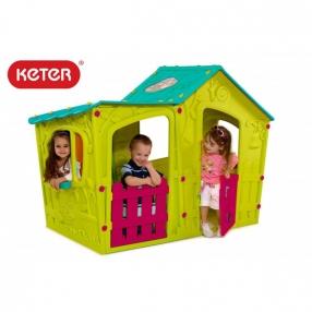 Keter Magic Villa пластмасова къща за игра