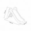 Keter Boogie Slide - Детска пързалка 3