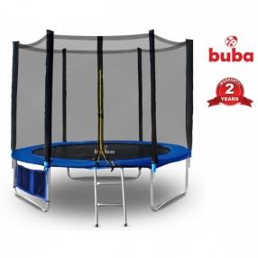 Buba - Детски батут 305 см с мрежа и стълба