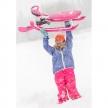 Stiga Snowracer COLOR PINK PRO - шейна с кормило 2