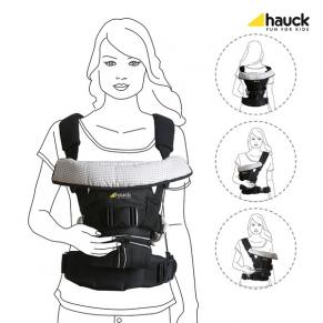 Hauck 4-Way Carrier Black - Ергономична раница