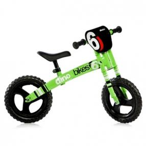 Dino Bikes Verde Fluo - Колело баланс