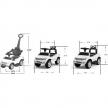 Chipolino Ford Ranger - Кола за яздене със сенник  4