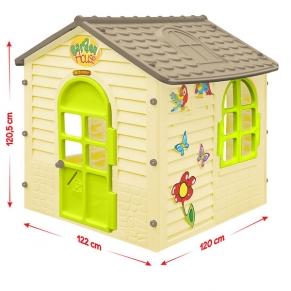 Mochtoys - Малка къща 122х120х120.5 см