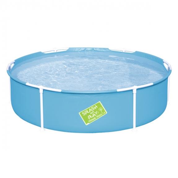 Продукт Bestway MY FIRST FRAME POOL - Кръгъл сглобяем басейн 1.52м x 38см  - BG Hlapeta