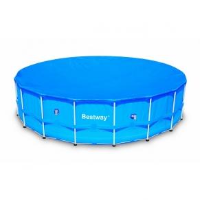 Bestway - Покривало за басейн за басейн с диаметър 549 cm