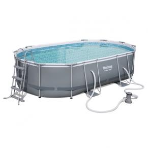 Bestway - Сглобяем басейн, овален 488x305x107см