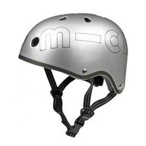 Micro Helmet Silver Matt - Каска