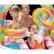 INTEX Candy Zone - Надуваем център за игра с пързалка Бонбонландия  4