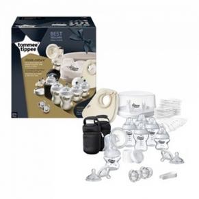 Tommee Tippee - Комплект за кърмене със стерилизатор за микровълнова