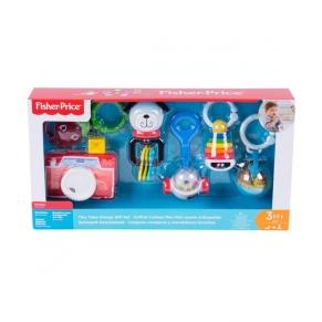 Fisher Price - Комплект за подарък дрънкалки