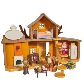 Simba Big Bear House - Комплект за игра с Маша и Мечока