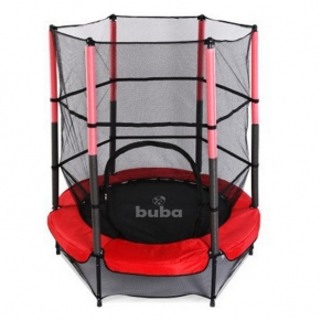 Buba - Детски батут (140 см) с мрежа