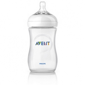 Philips Avent - Шише за хранене Natural 260ml - PP